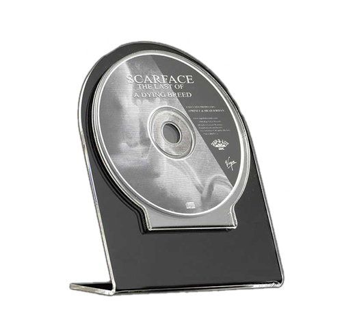 Promotional display - cd dvd holder