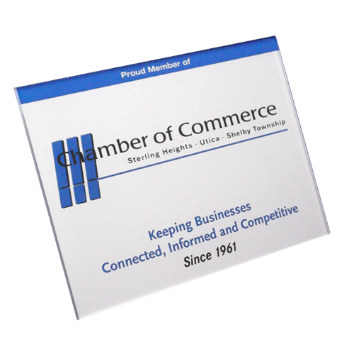 Chamber of commerce - membership sign