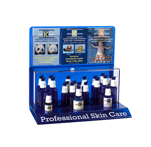 Product display - branding - skin care