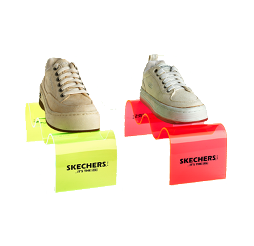 Product display - shoes - product branding