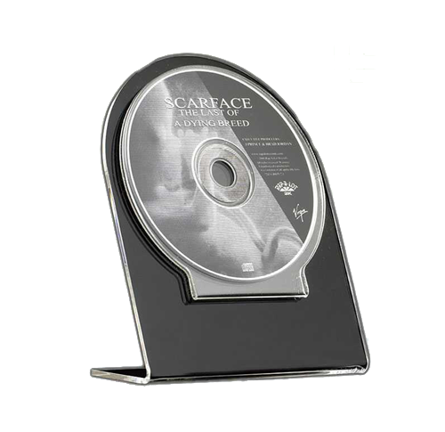 Specialty CD or DVD counter top display.