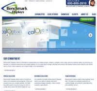 Benchmark Displays launches new flagship website
