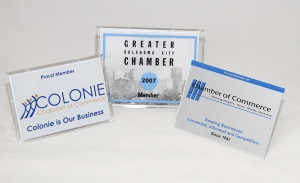 Chamber of Commerce - Custom Awards & Plaques